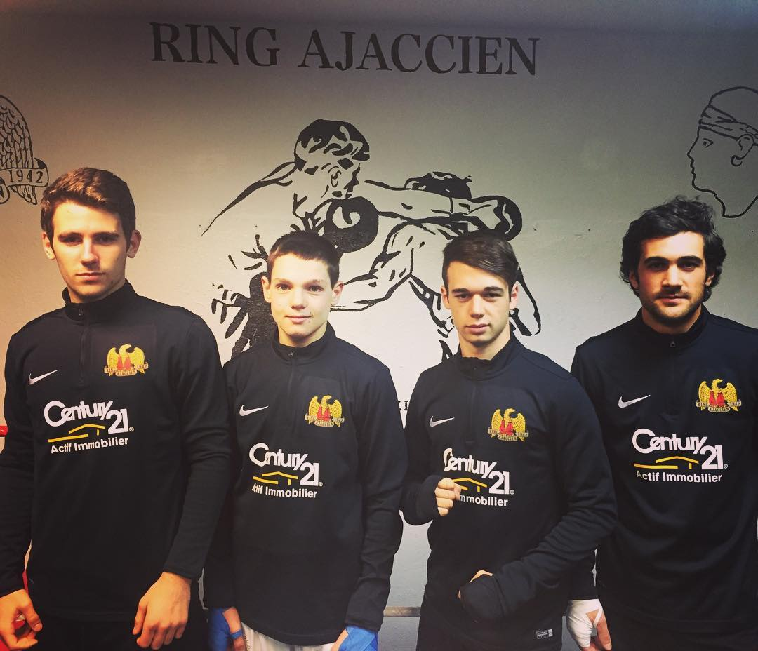 Groupe combats 2017 du ring ajaccien