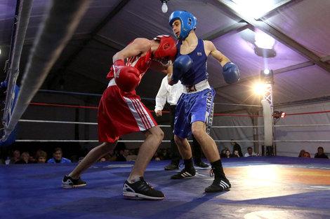 club de boxe anglaise Ajaccio